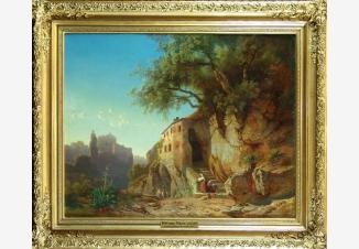 Пейзаж, в римской Кампанье